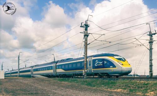 T3 Eurostar bij Hazerswoude dorp
