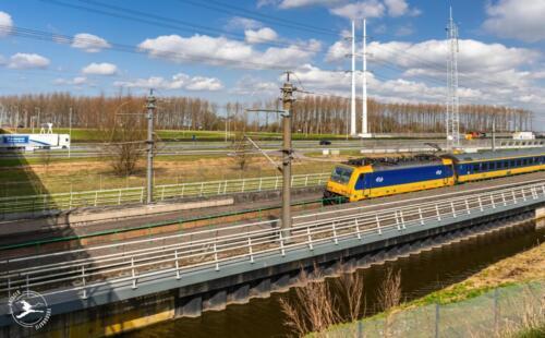 T5 Intercity direct bij Hoogmade