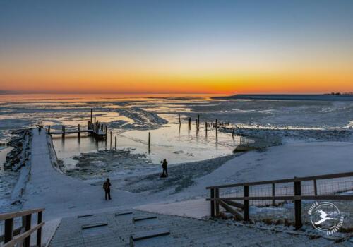 T4. Wachten op de zonsopgang bij het haventje van Sil