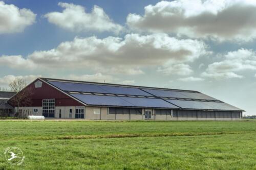 B1 boerderij met zonnepanelen